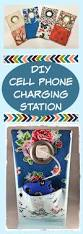diy cell phone charging station sew much moore