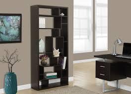 spec designs by monarch specialties vivunki bookcase cappuccino