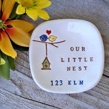 personalized housewarming gift our little nest by sayyourpiece