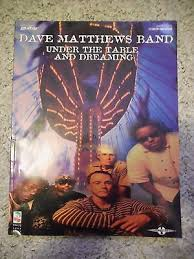 under the table and dreaming dave matthews band piano vocal guitar songbook under the table and