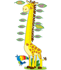 giraffe bulletin board set grade pk 5 carson dellosa publishing