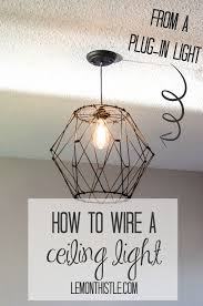 Diy Ceiling Light by 161 Best Diy Lighting Images On Pinterest Home Diy And Craft Ideas