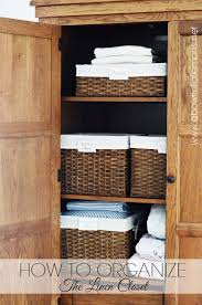 organization challenge linen closet a bowl full of lemons