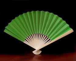 fans for weddings 9 grass greenery paper fans for weddings 10 pack on sale
