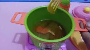 Kitchen Sets by Play Doh Toys Kitchen Sets For Children Cooking Chicken Soup