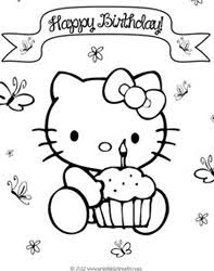 adults print birthday coloring pages