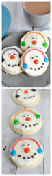 snowman cookies snowman christmas cookies and holidays
