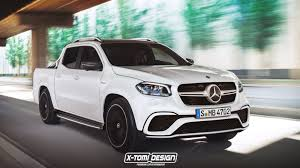 news mercedes benz x class could get amg look not power