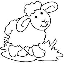 printable sheep coloring pages coloringstar