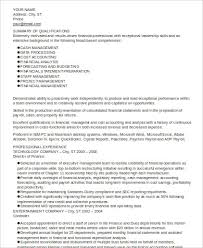 executive summary for resume examples manufacturing executive resume example resume examples