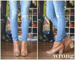 So Ankle Boots The Dos And Don U0027ts Of Cuffing Your Jeans With Ankle Boots Part 1