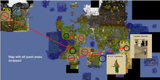 Oldschool Runescape World Map by Everything Points To Gnomes Cracktheclue