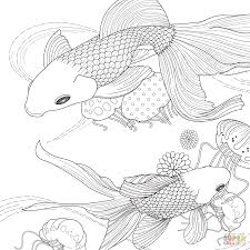 fish coloring pages printable golden fish coloring page free printable coloring pages