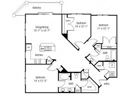 3 Bedroom Apartments In Norfolk Va by 3 Bed 2 Bath Apartment In Norfolk Va The Alexander At Ghent