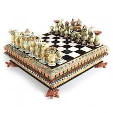 Ceramic Chess Set Chess Table Set Foter