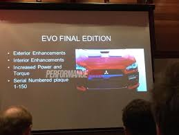 mitsubishi evo interior 2016 mitsubishi lancer evolution x final edition confirmed for