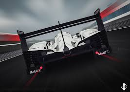 porsche 919 porsche 919 hybrid illustration james gibson photography