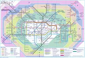 Zone Map London All Zones Map London Map