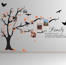 family tree wall decal for your family u2014 wedgelog design