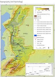 Jordan River Map The Orontes A Complex River Orontes River Basin Eatlas