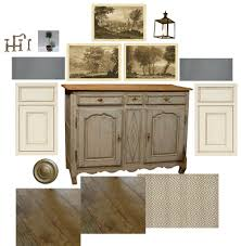 French Country Buffet And Hutch by Boxwood Terrace Virtual Renovation A Small French Country Kitchen