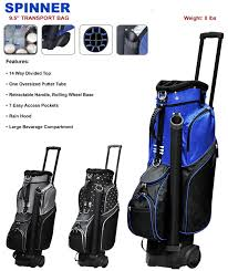 Wyoming travel golf bags images Product display 2017 rj sports spinner cart bag with wheels at jpg