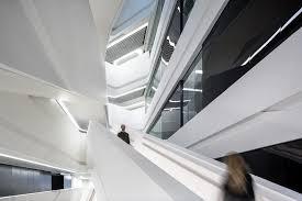 architectural photography jockey club innovation tower by zaha