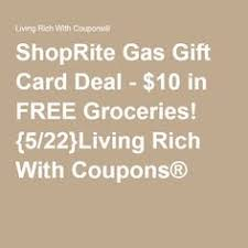gas gift card deals 10 in free groceries buy select gift cards at shoprite starting