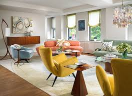 Midcentury Modern Colors - 15 fab mid century modern living rooms home design lover