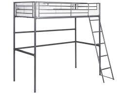 lit mezzanine 1 place avec bureau conforama lit mezzanine 90x190 cm line coloris gris vente de lit enfant