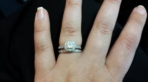 how to wear your wedding ring how often do you wear your engagement ring weddingbee