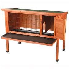 Metal Rabbit Hutch Trixie Pet 1 Story Rabbit Hutch Large 62372 From Trixie Pet