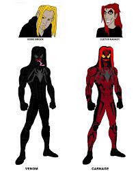 Carnage Halloween Costume Design Venom Carnage Fan Deviantart