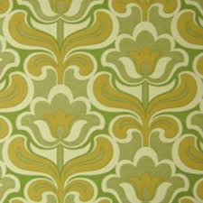 Mid Century Patterns by Original Mid Century Modern Geo Floral Wallpaper Perfect Vintage