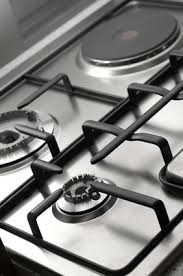 Clean Stainless Steel Cooktop How To Clean Baked On Grease On Stove Grates Stove Helpful