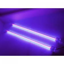 12in uv black light color dual cold cathode pc light kit