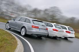 audi a6 2013 vs 2014 audi a6 avant vs bmw 520d touring vs mercedes e 250 t modell