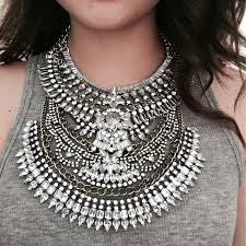 big statement necklace images Kqmx vintage necklaces pendants high quality two big necklaces jpg