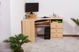 Schreibtisch 130 Schreibtisch Kiefer Massiv Vollholz Natur 005 Abmessungen 74 X