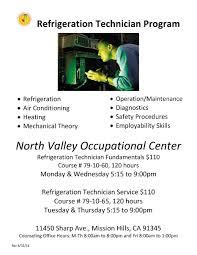 Calljobs Refrigeration Technician U2013 Industrial Programs U2013 North Valley