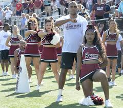 Cheerleader Flags Siuc Cheerleaders Who Took A Knee During Anthem Say They Are The