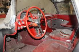 ebay corvette parts epic barn find 1961 corvette parked since 1968