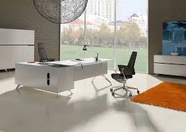 unique desks unique furniture 400 collection white desk 481 with right return