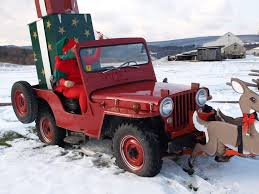 jeep christmas merry christmas from santa the cj2a page forums