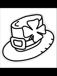 st patrick u0027s day coloring page leprechaun hat primarygames