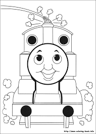 thomas train halloween coloring pages eson