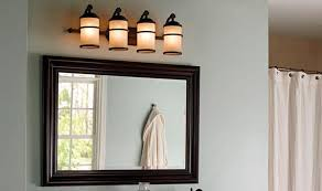 Light Sconces For Bathroom Bathroom Lighting At The Home Depot