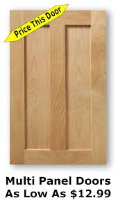 Glass Panel Kitchen Cabinet Doors by Unfinished Shaker Cabinet Doors As Low As 8 99