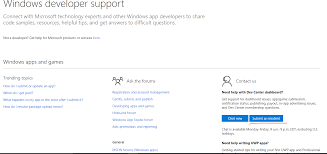 problem with windows store certification