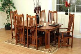 Shaker Style Dining Table And Chairs Craftsman Sectional Sofa Mission Style Dining Room Furniture Sofas